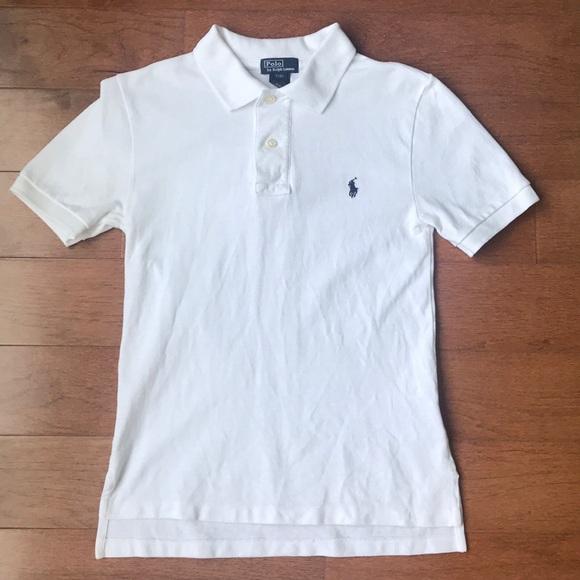 4bbeee89 Ralph Lauren Boys White Polo. M_5b841ac71537952db33b027b. Other Shirts &  Tops ...